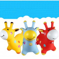 Inflatable Bouncing Giraffe Hopper for Kids, Toddlers, Boys, Girls