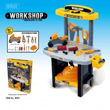 8002 Little Builder Workshop Playset- Pretend Play Set