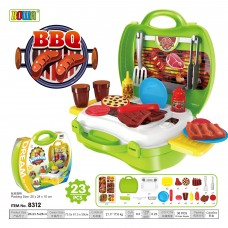 Education Pretend Role Play Set Dream Suitcase 8312 BBQ