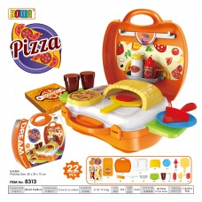 Education  Pretend  Role  Play  Set  Dream  Suitca 8313 PIZZA