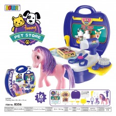 Education  Pretend  Role  Play  Set  Dream  Suitcase 8356 PET STORE