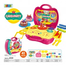 Education  Pretend  Role  Play  Set  Dream  Suitcase  8729 CAKE &PARTY