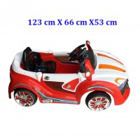 Toytexx Children Four-Wheel Battery Operated Electric Ride-On Car
