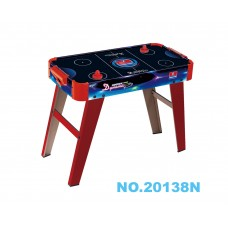 "20138N 27"" Air Hockey Game Table with 2 Pucks & 2 Pushers"