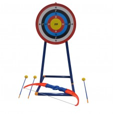 Kids Toy Archery Bow and Arrow Set with Target and Stand (777-707)