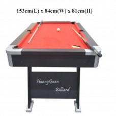 20391 5 ft. Full Size Billiard Table Pool Table