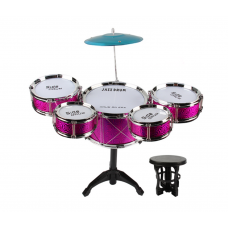 20pcs Toy Drum Play Set/ Jazz Drum Set with Stool