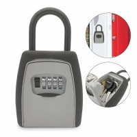 Outdoor Key Storage Combination Lock Deposit Box with Code Combination for Keys - 904