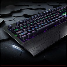 Gaming USB Mechanical Illuminated Keyboard LED Backlit for PC Gamer