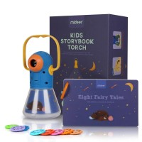 Mideer Kids Storybook Torch Projector Bedtime Educational Toy with 8 Fairytales 3Y+