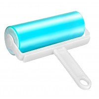 Reusable Washable Lint Roller Dust Hair Remover- 17.5 cm (Random Colour)