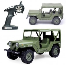 Henglong 1/14 2.4G US. M151 Jeep Model Crawler Car RTR - 3853C