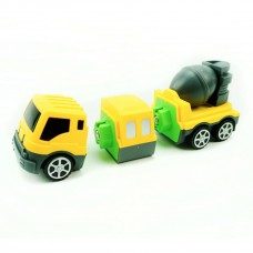 Changed Build Team - Kids Magnetic assembly building vehicles 6 Vehicle Set