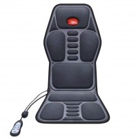 Vibration Massage Chair Seat Cushion with Infrared Heating for Car, Home Use
