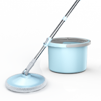 Spin Mop and Bucket Floor Cleaning Set A72 - Blue