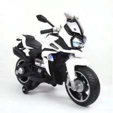 NEL R800 Kids Ride On Electric Motorbike w/ Training Safety Wheel