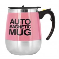 Auto Magnetic Mug - Electric Self Stirring Coffee / Mixing Cup for Coffee / Tea / Hot Chocolate, 450ml / 15.2oz