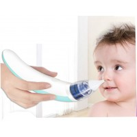 Portable Adult/ Baby Nasal Aspirator Newborn Baby Infant Nose Cleaner Suction Safe Hygienic USB Rechargeable