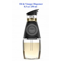 Press and Measure Oil & Vinegar Dispenser 8 oz/ 250 ml