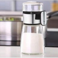 Metering Glass Salt And Pepper Glass Shaker Dispenser For Precision Controlling - 160 ml
