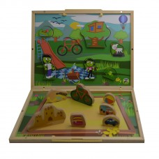 2 Set PBS Take Along Puzzle Playset Explore the playground,Pack of 1