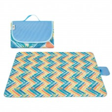 Outdoor Waterproof Picnic Mat Outing Cloth 200 x 145 cm - (Random Color)