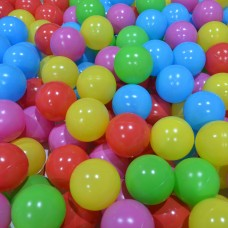 100 Pcs Kids  Safe Plastic Playballs for Playpen Ball Pits Tents Baby Pool Colorful Toy