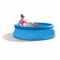 Easy Set Inflatable Above Ground Swimming Pool Outdoor Backyard Family Pool - 244 x 76 cm