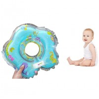 Toytexx Baby Infant Inflatable Neck Float Ring for Bath Swimming
