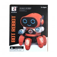 Toytexx Intelligent Robot Six-Legged Robot Gesture-Sensing Robot Walking Smart Robot Toy Senses Gesture Control Gifts Kids