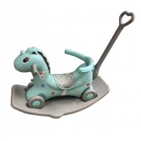Toytexx 3 in 1 Push Ride Rocking Horse (Rocking/ Wheeled Gilding Car/ Pusher)