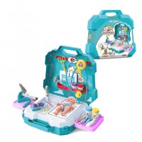 Kids 29PCS My Clinic Educational Toys Medical Clinic Doctor Play Set with Carrying Case
