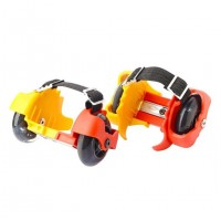 Light up Flash Skates Roller Easy-on Heel Skates