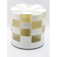 5-Tier Rotating Storage Container Organzier for Underwear, Socks, Cosmetics, Jewelry