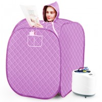 Portable Therapeutic Steam Sauna Box Tent Set with Steam Generator - SY169