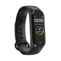 M4 Smart Bracelet  Band Fitness Tracker Watch With Step, Sport and Heart Rate