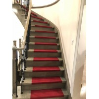 Non-Slip Stair Tread Cover Skid Resistant Indoor Mat Carpet - Set of 15