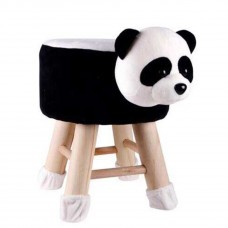 Cartoon Plush Animal Wooden Stool Kids Furniture Chair Children Seats Stool
