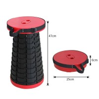 Telescopic Folding Outdoors Portable Stool For Sitting Anywhere
