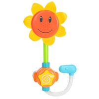 Baby Sunflower Bath Shower Toy Water Sprinkler Shower Faucet