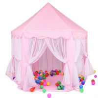 Kids Tent Princess Play Tent for Indoor and Outdoor Fun