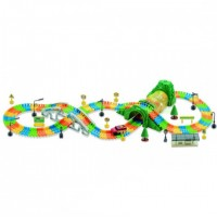 Dream Track - 253 PCS Race Car Track Set with LED Backlight