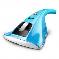 Anti-dust Mites Vacuum Cleaner, UV-C lamp Kills Bacteria, 300w Powerful suctions high Frequency Vibration, Capture Rate up to 99%-Baby Blue Colour