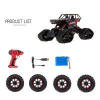 1/12 2.4G 4WD DIY Tire All Terrain High Speed RC Rock Crawler