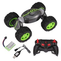 2.4G Remote Control 4WD Double Sided Working Twist Stunt Car