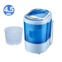 Electric Mini Portable Compact Washing Machine Hold 4.5 Kg Clothes