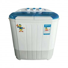 Intexca Portable Compact Twin Tub Capacity Washing Machine and Washer Spin Dryer