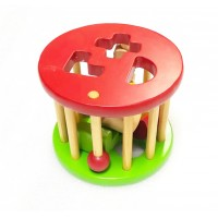 kids Educational Wooden Shape Sorting Set