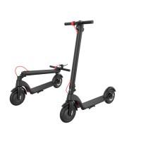 X7 8.5 Inch E-scooter Air Rire Easy Fold-n-Carry Design 350W 25KM/h Electronic Scooter