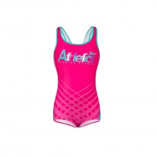 XTEP Girls Junior Athletic Swimming One Piece Swimsuit Sports Bathing Suit-1604